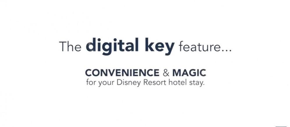 Unlock Disney World With A Digital Key